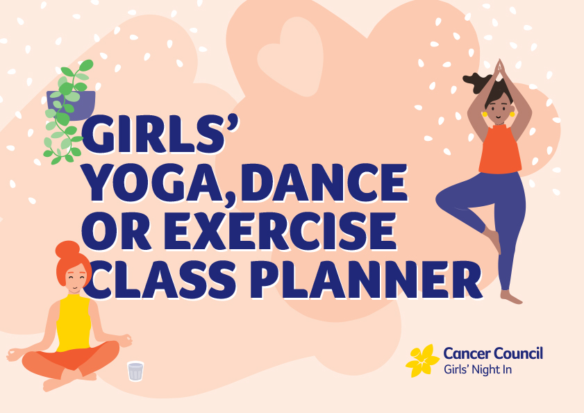 Yoga, Dance or Exercise Class Planner
